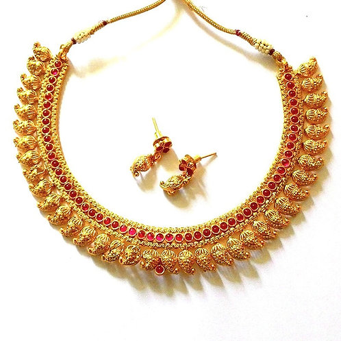 Gold Necklace 025