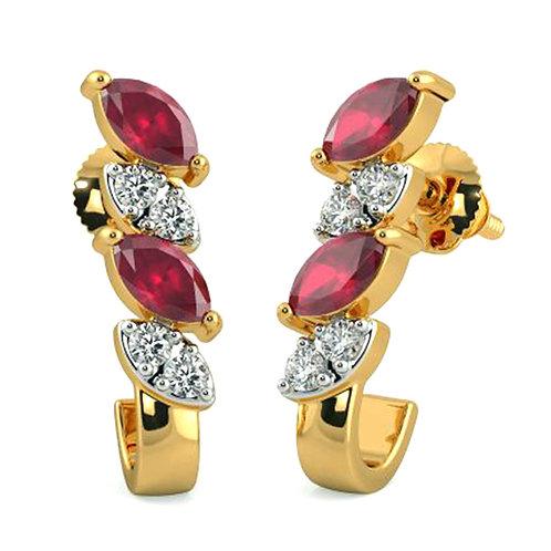 Diamond Earring 024