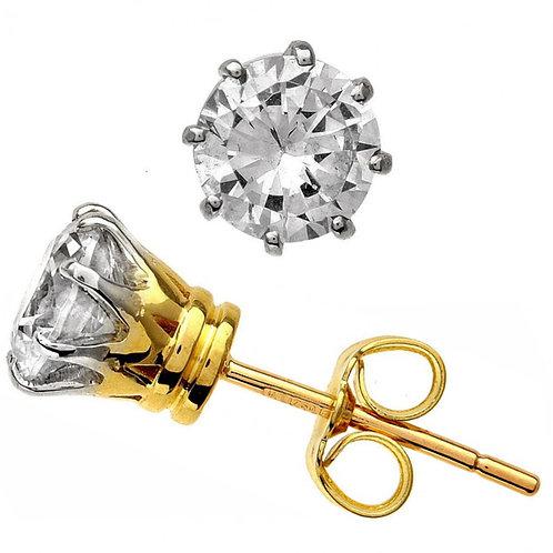 Diamond Solitaire Earring 029