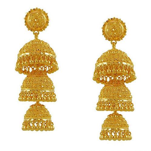 Gold Earring 010