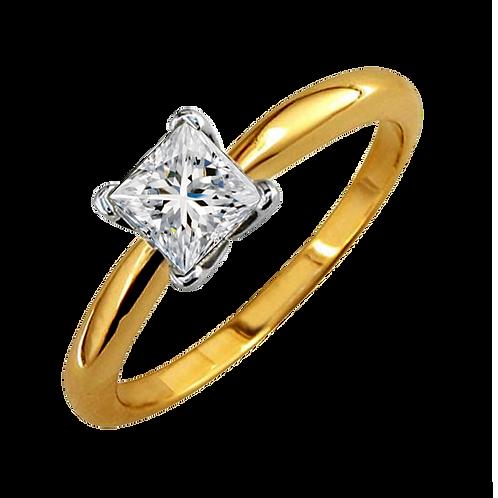 Ladies Solitaire Ring - 005