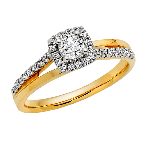 Ladies Solitaire Ring - 011