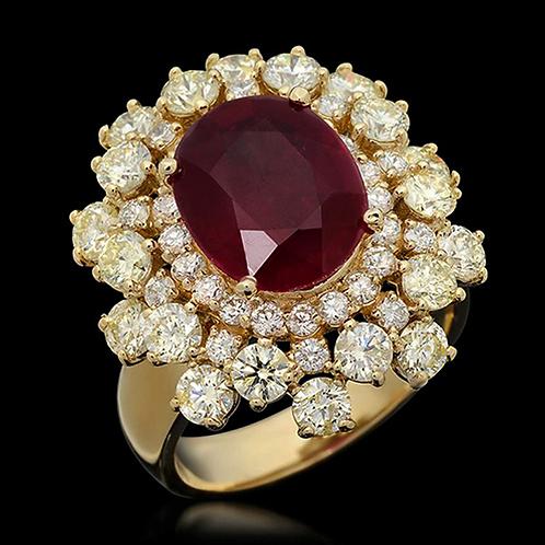 Ladies Flower Ring - 021