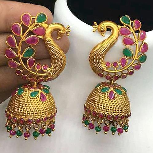 Gold Earring 036