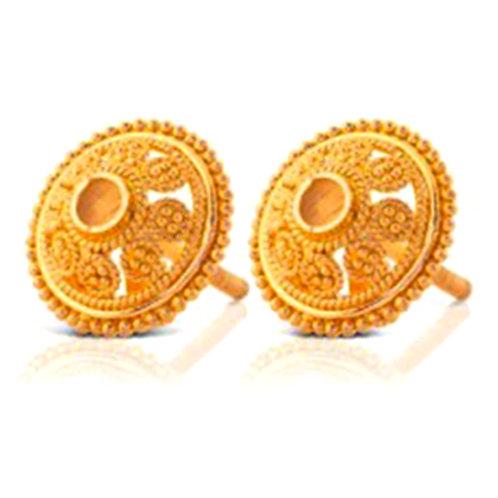 Gold Earring 014