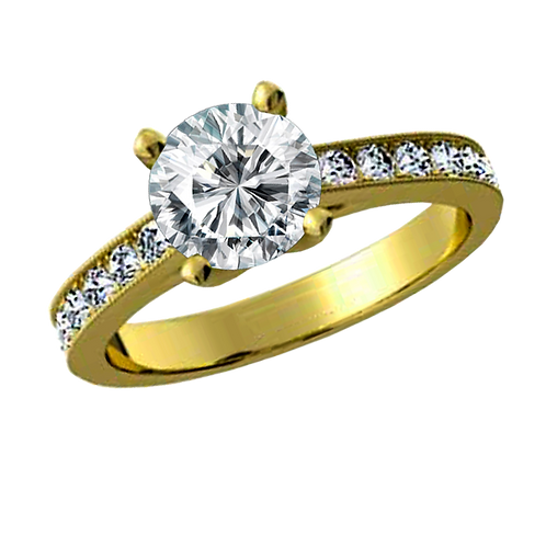 Diamond Solitaire Ring - 032