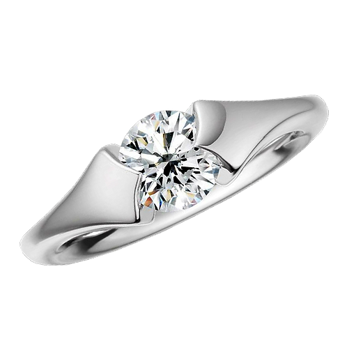 Diamond Solitaire Ring - 033