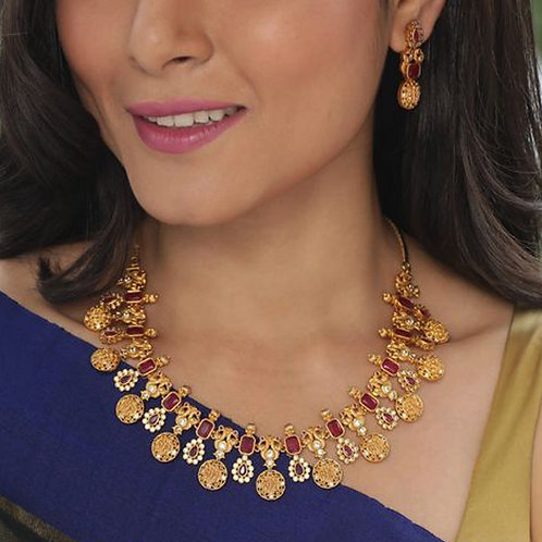 Gold Necklace- GN-001