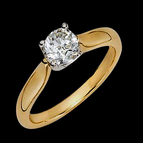 Ladies Solitaire Ring - 008