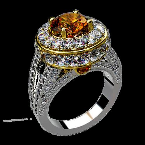 Ladies Flower Ring - 023