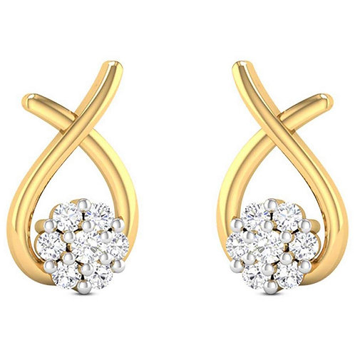 Diamond Earring 016