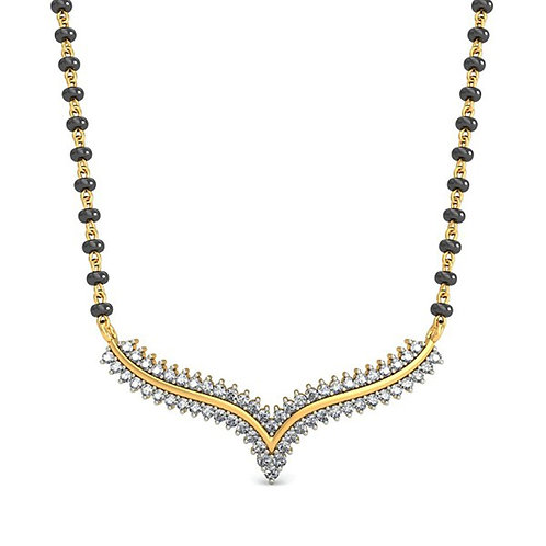 Gold Diamond Mangalsutra_001