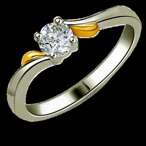 Ladies Solitaire Ring - 030