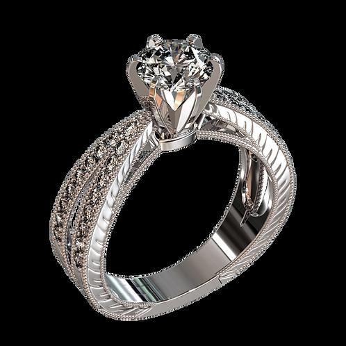 Ladies Solitaire Ring - 020
