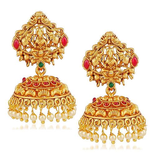 Gold Jhumka-021