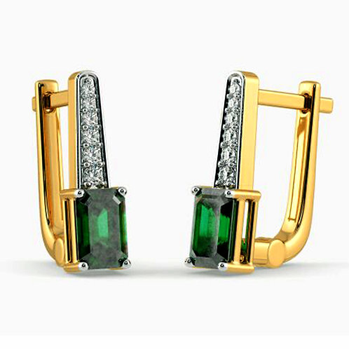 Diamond Earring 009