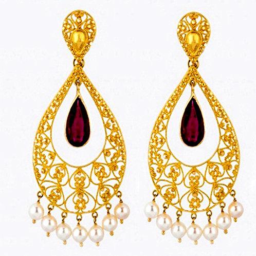 Gold Earring 019