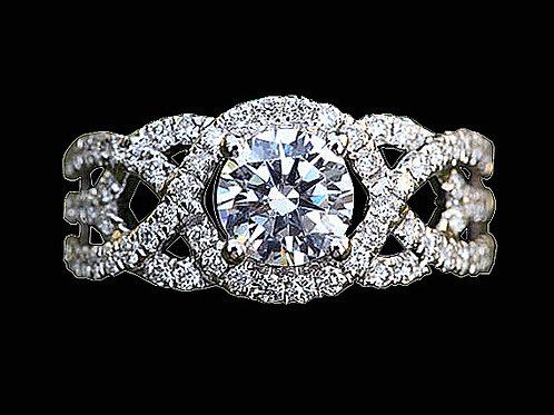 Ladies Flower Ring - 026
