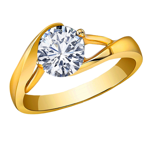 Ladies Solitaire Ring - 008