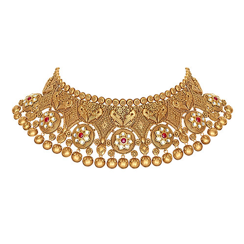 Gold Necklace 009