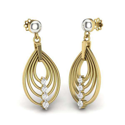 Diamond Earring 002