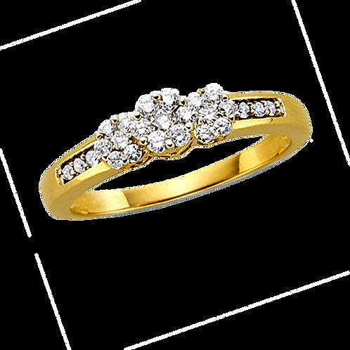 Ladies Solitaire Ring - 012