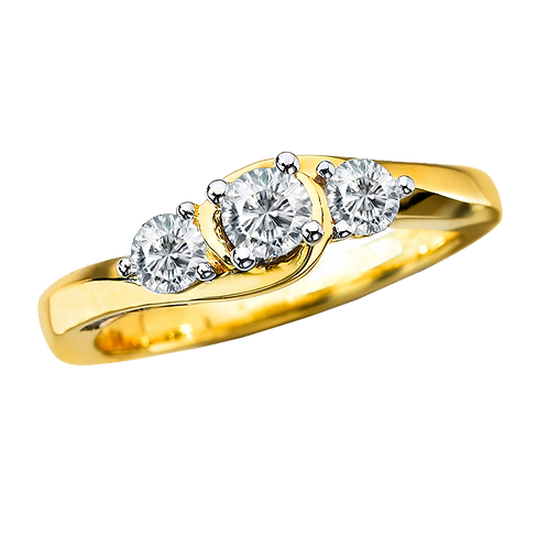 Ladies Solitaire Ring - 024