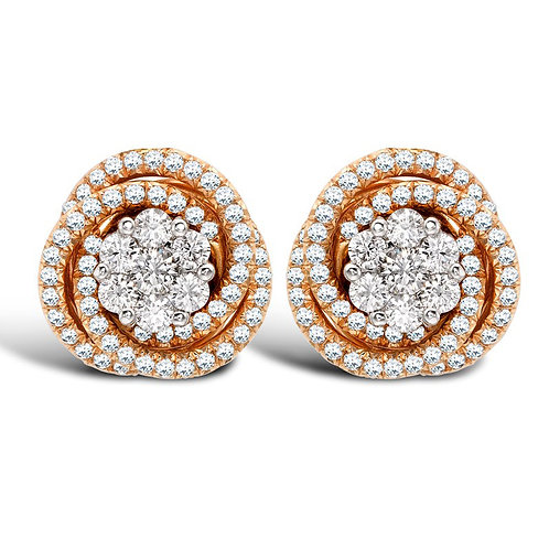 Diamond Earring 044
