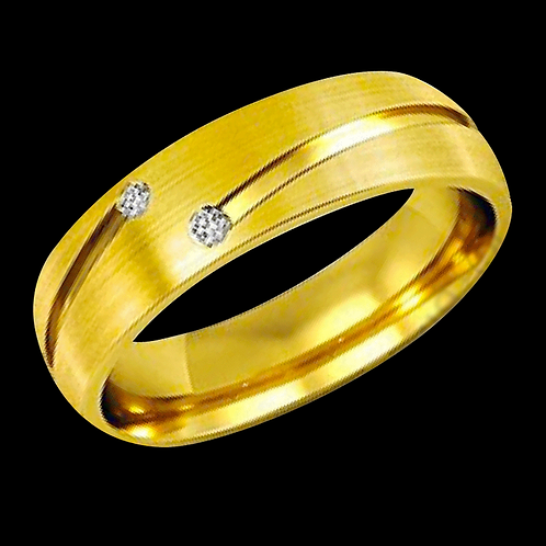 Gents Gold Ring - 007