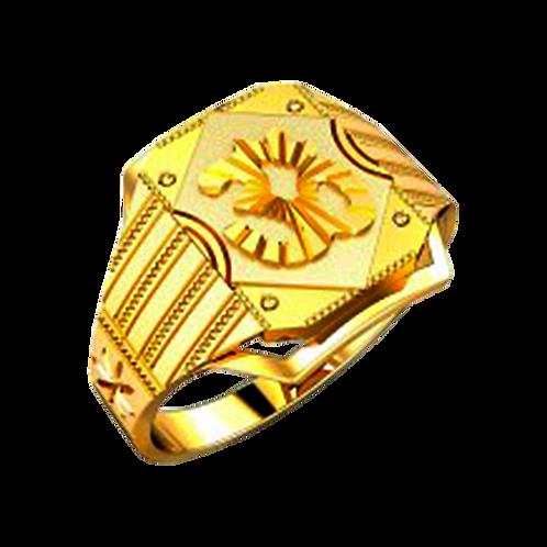 Om Gold Ring - 034