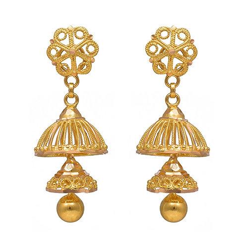 Gold Earring 004