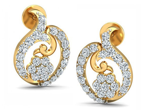 Diamond Earring 038