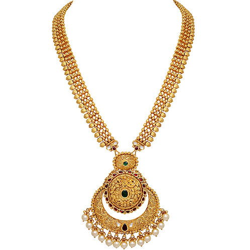 Gold Necklace 018