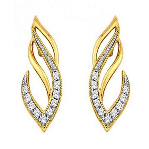 Diamond Earring 025