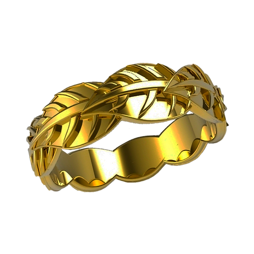 Lady Gold Ring - 002