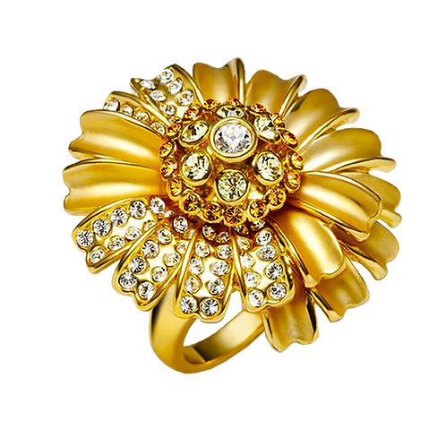 Ladies Flower Ring - 008