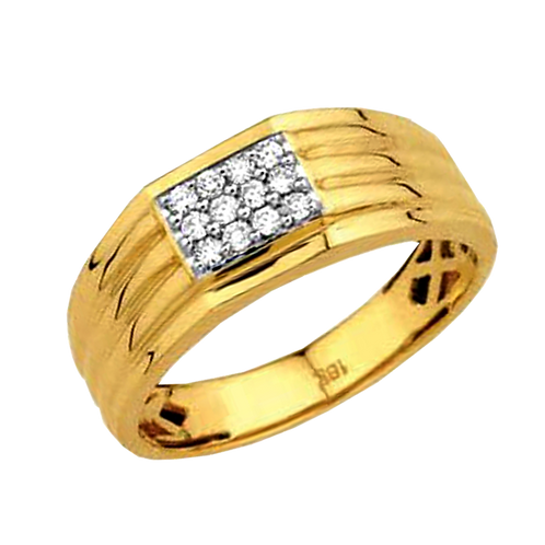 Gents Diamond Ring - 036