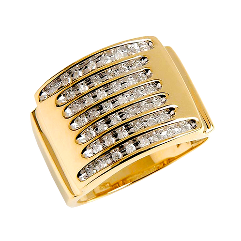 Gents Gold Ring - 011