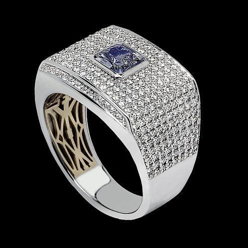 Gents Diamond Ring - 018