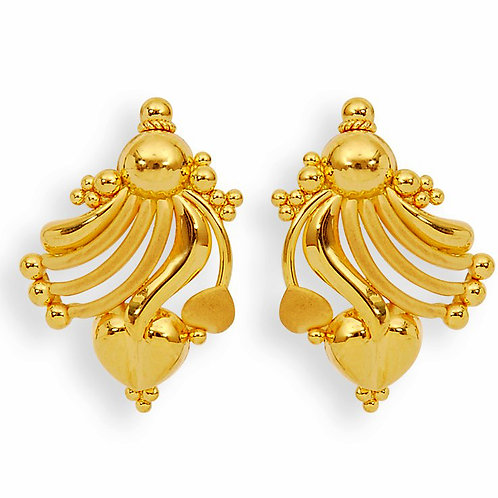 Gold Earring 020