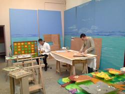 Atelier peinture (grand volume)