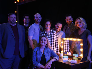 """Happy Opening to the WONDERFUL cast of """"Stage Kiss"""""""