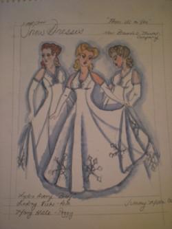 Snow Dresses