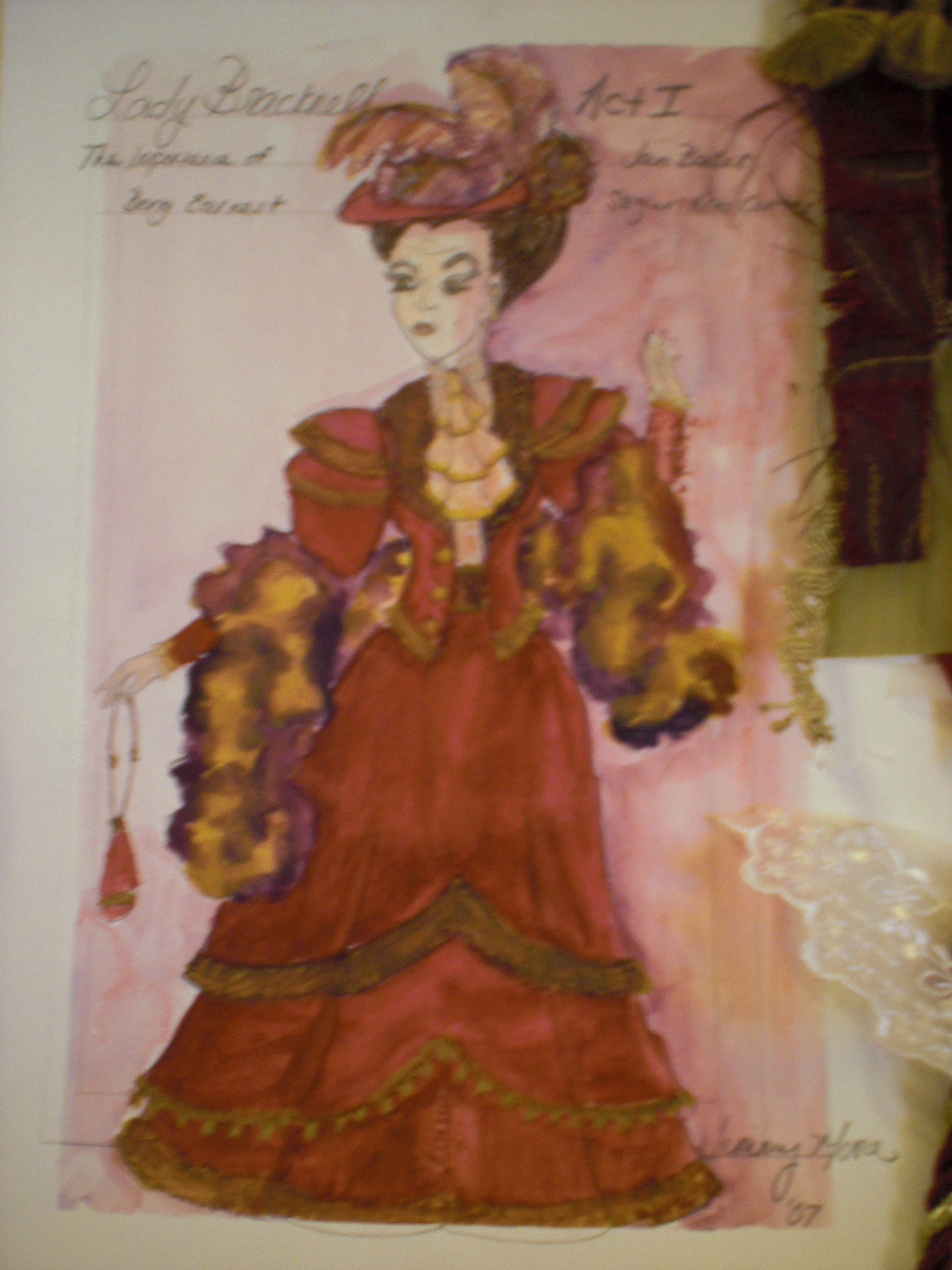 Lady Bracknell Act I