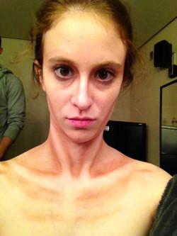 Anorexia Makeup by Glenda Barnes