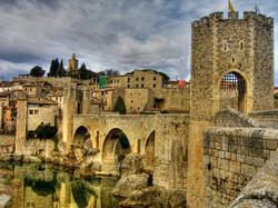 Medieval city in Spain