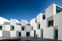 Geometric building in Europe