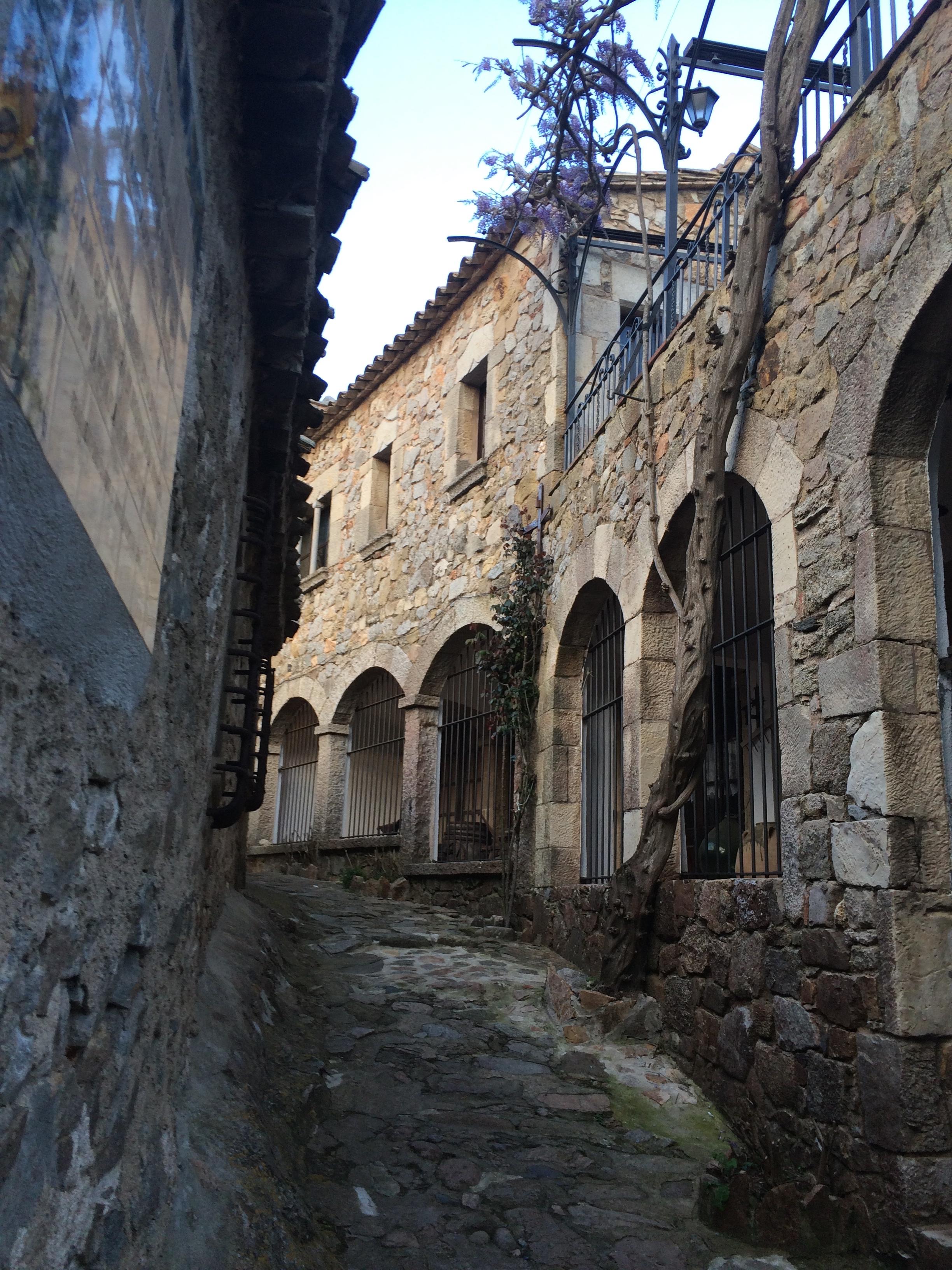 Mediterranean stones city Spain