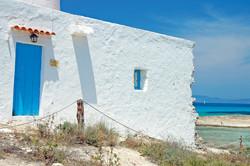 typical mediterranean house
