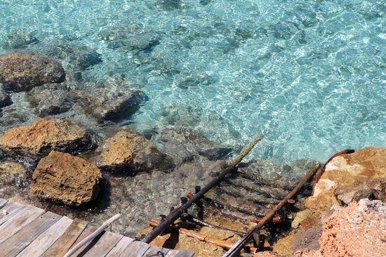 typical mediterranean beach